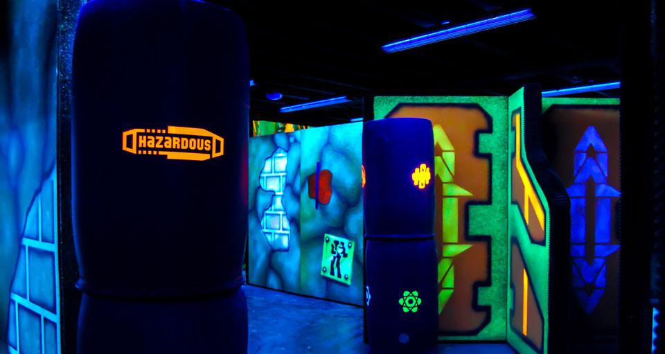 Indoor laser tag: game scenarios