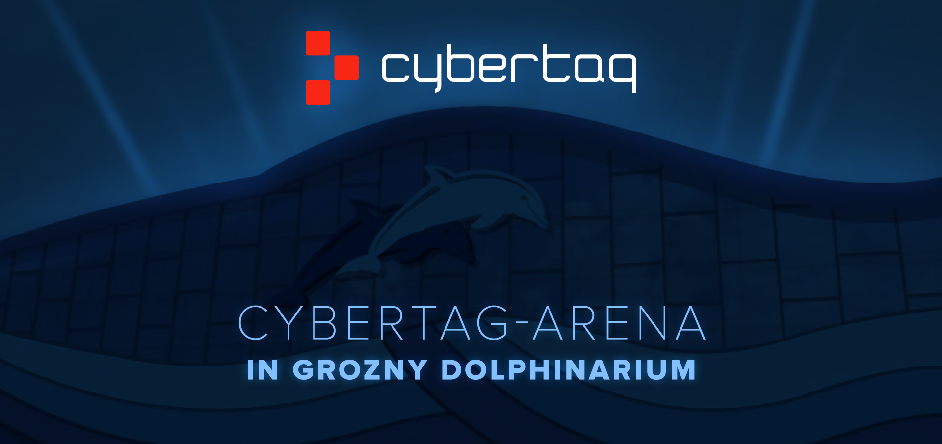 Cybertag arena in Grozny Dolphinarium